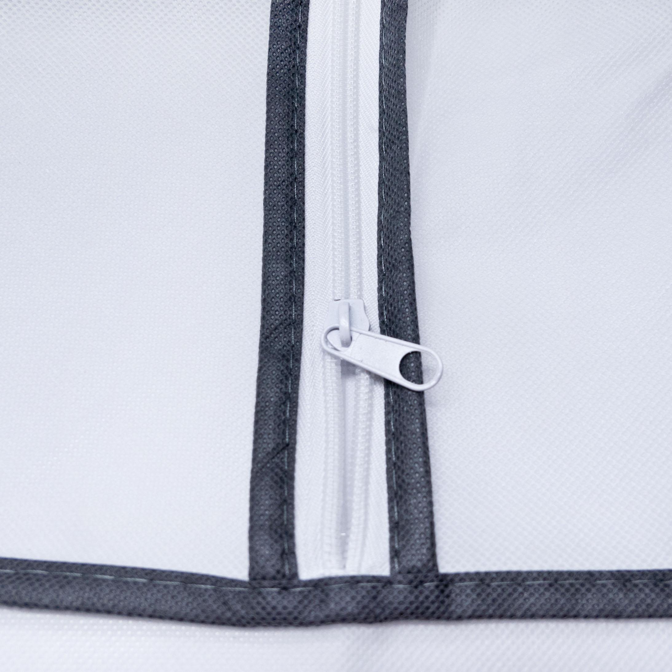Aufbewahrungstasche 2 Stück Tragetasche für Bettdecken, Kopfkissen und Kissen  – Bild 5