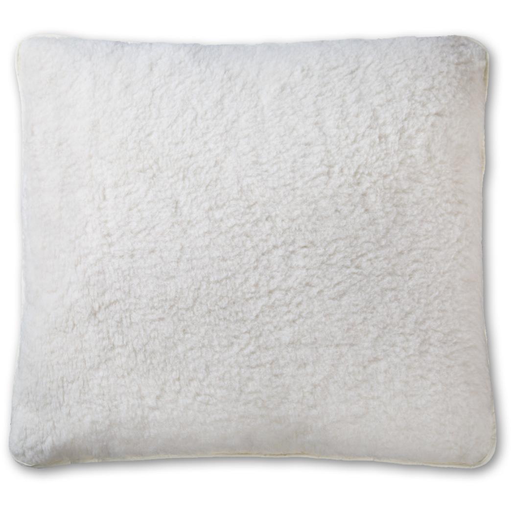 Kopfkissen Lammflor Baumwolle Natur ver. Größen Kissen Lana – Bild 2