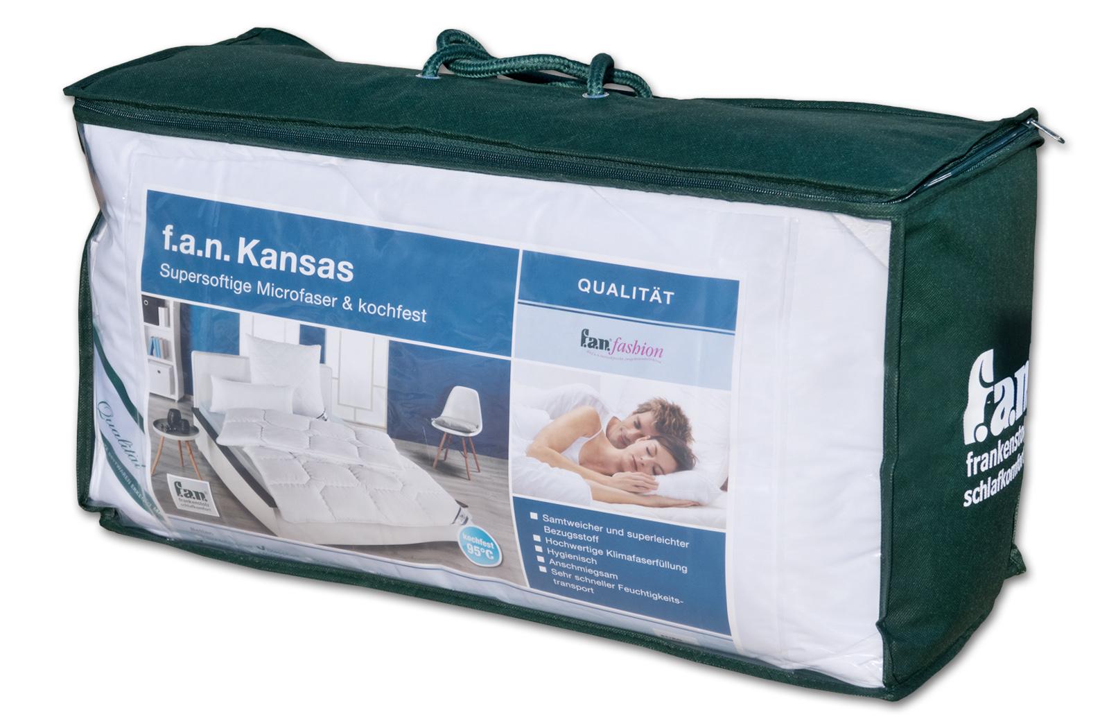 Frankenstolz Schlaf-Gut Steppbett Ganzjahresdecke Kansas – Bild 4