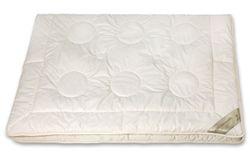 Bettdecke Kamelhaar KBA Baumwolle 4-Jahreszeiten Bio Decke 155x220 Nadin 001