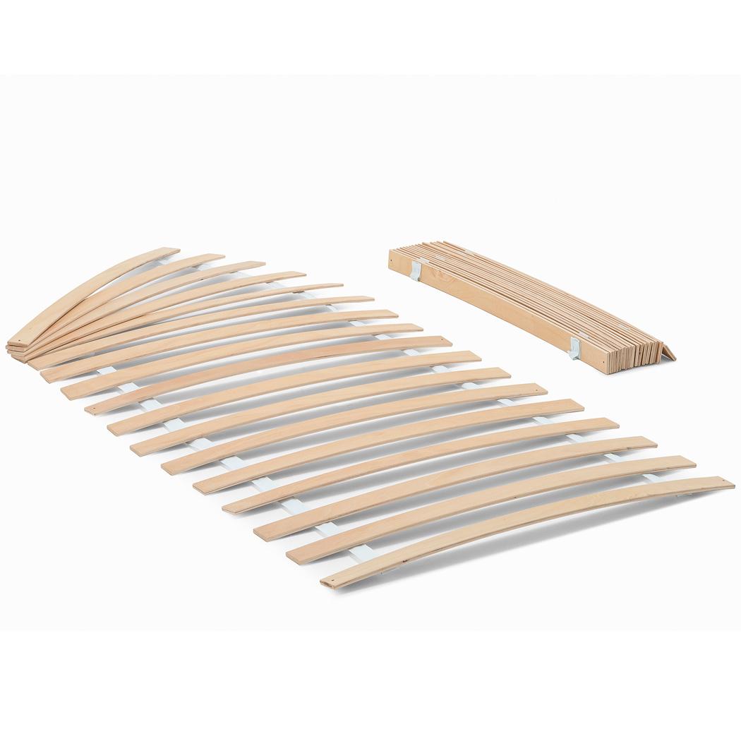 Massivholz Kernbuche Geölt Holzbett Bettgestell 2x Stapelbett – Bild 3