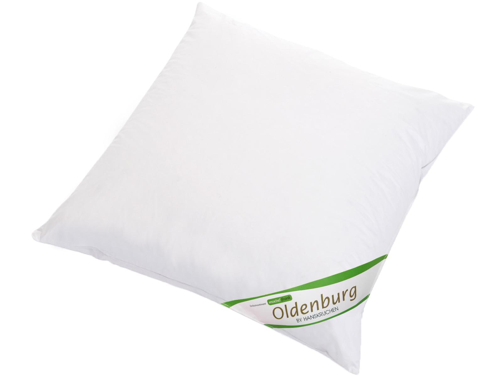 Kopfkissen neue weiße Landdaune und -federn Baumwolle Oldenburg 80x80cm und 40x80cm Hanskruchen – Bild 8