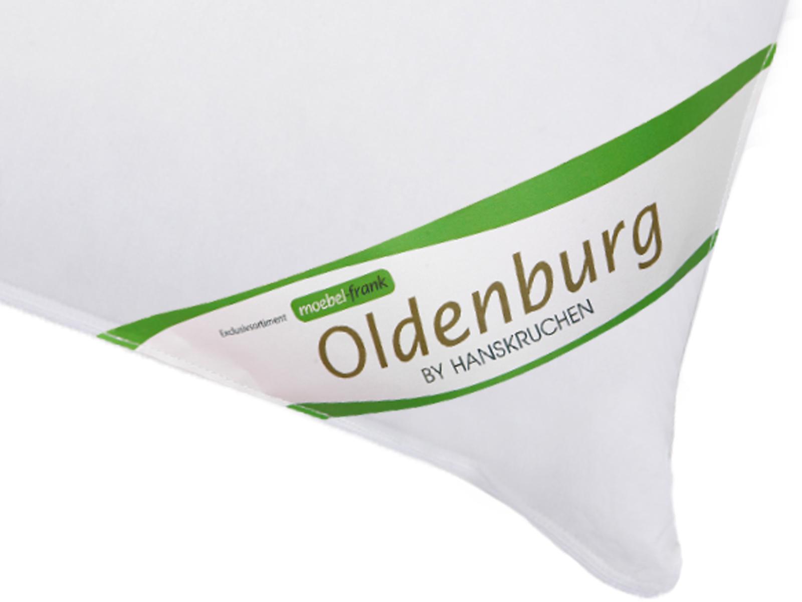 3-Kammer Kopfkissen neue weiße Landdaune und -federn Baumwolle Oldenburg 80x80cm und 40x80cm Hanskruchen – Bild 8