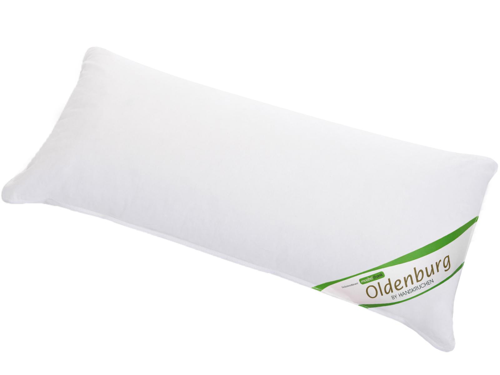 3-Kammer Kopfkissen neue weiße Landdaune und -federn Baumwolle Oldenburg 80x80cm und 40x80cm Hanskruchen – Bild 7