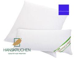 Kopfkissen neue weiße Gänsedaune und -federn Baumwolle Dithmarschen Hanskruchen 001