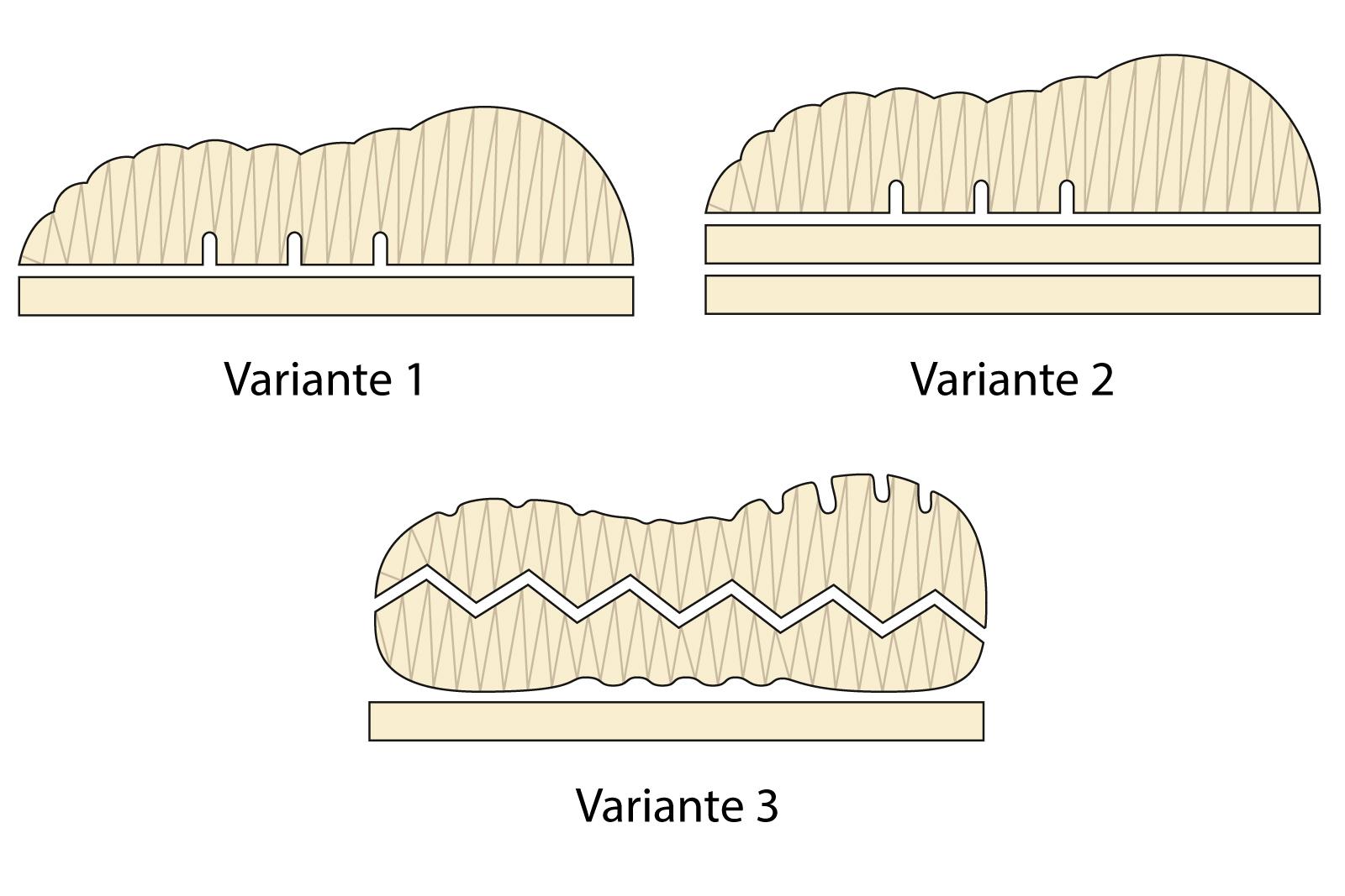 Nackenkissen Bio Latex kbA Baumwolle versch. Varianten 40x80 – Bild 2
