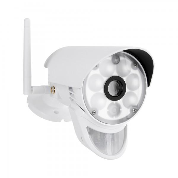 HD Überwachungskamera HWT-CAM-103.LED mit LED-Licht und PIR Sensor  – Bild 1