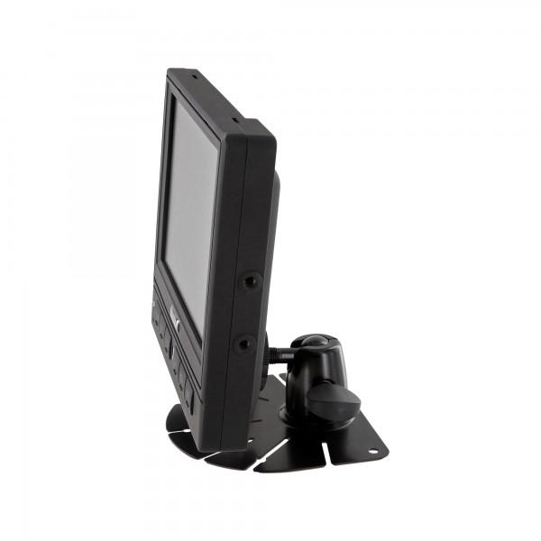 "LKW TRUCK Wohnmobil Rückfahrssystem 5,6"" Monitor + Auto Shutter Rückfahrkamera CCD 180° 10-32 V mit Mikrofon – Bild 5"