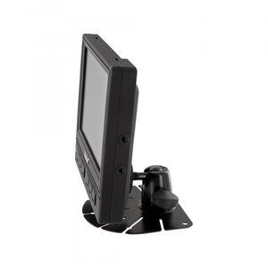 "LKW TRUCK Wohnmobil Rückfahrssystem 5,6"" Monitor + Auto Shutter Rückfahrkamera CCD 180° 10-32 V mit Mikrofon - Bild 5"