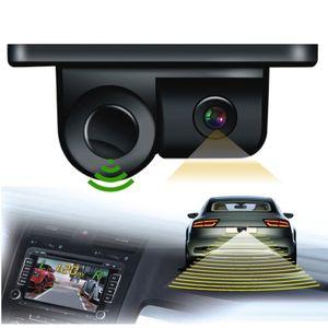Rückfahrkamera mit PDC Auto Einparkhilfe / KFZ Parkhilfe 2 in 1 Alarm