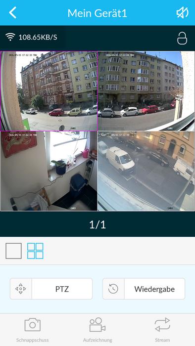 W-LAN HD WiFi NVR LAN Überwachungssystem 1,3 MP 960p 8 x WiFi Kameras mit App – Bild 9