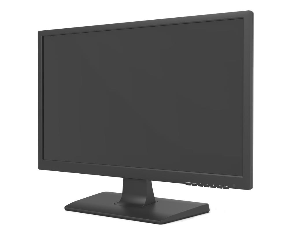21   HD LED Überwachungsmonitor für TVI-, AHD-, CVI- Überwachungskameras VGA- und HDMI-Monitor für Überwachung Full-HD-Auflösung