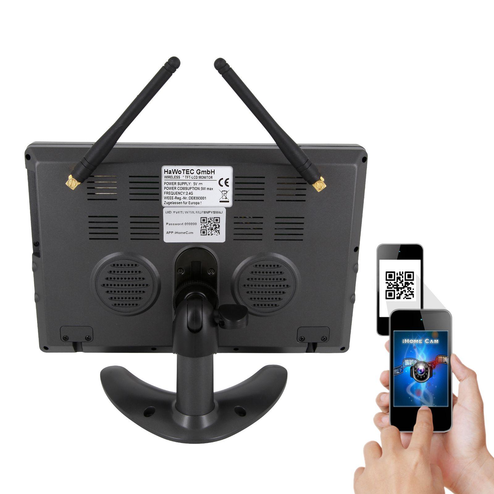 HD IP Digitales Echtzeit Funk-Videoüberwachung 9\