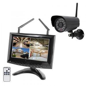 HD IP Digitales Echtzeit Funk-Überwachungssystem 1 bis 4 Kameras Smartphone App HWT-963 Starter-Set
