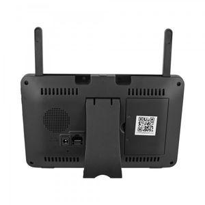 Digitales HD LED Funk Video Überwachungssystem mit Touchscreen Monitor mit Akku 1 - 4 Kameras - Bild 5