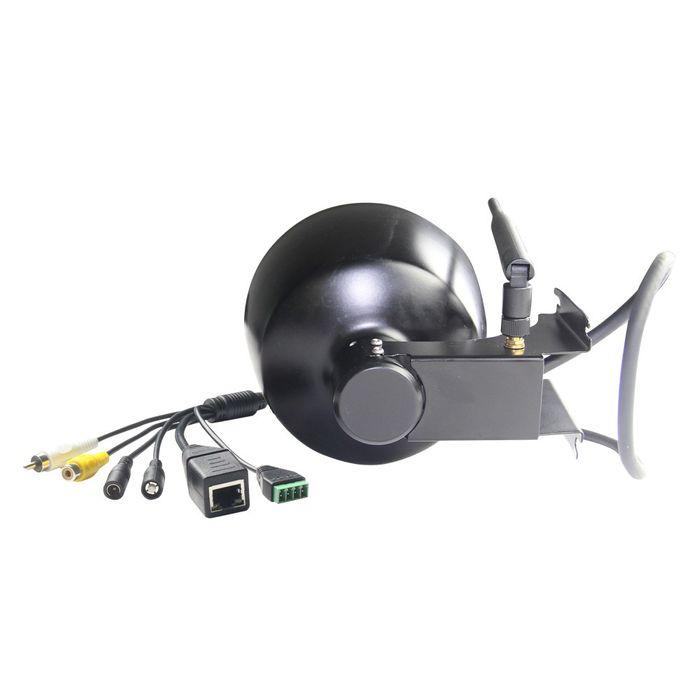 HD W--LAN IP Dome IP PTZ Kamera Überwachungskamera 5x optischer Zoom Nachtsicht 960p weiss schwarz – Bild 6