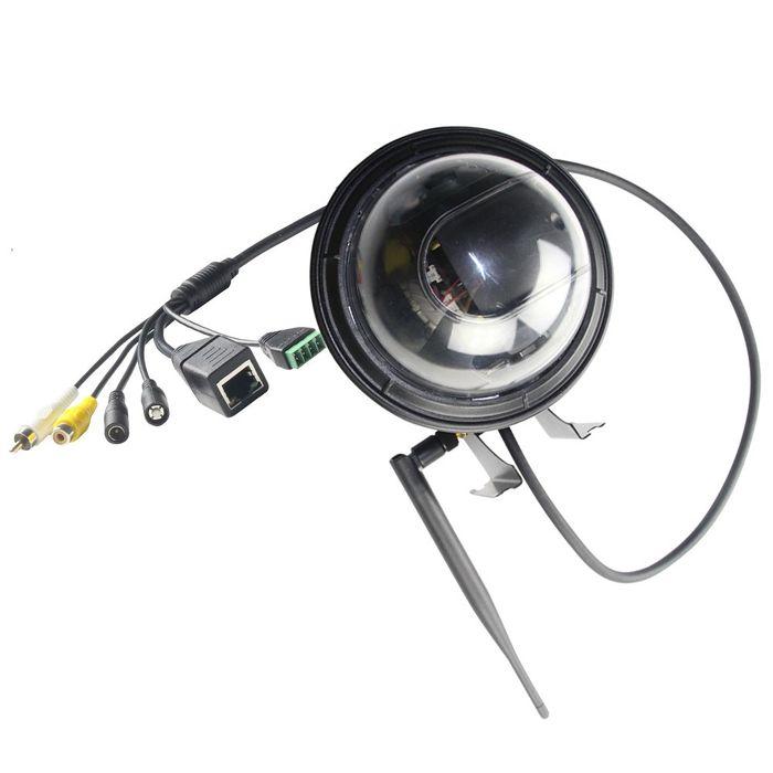 W--LAN IP Dome IP PTZ Kamera Überwachungskamera 5x optischer Zoom Nachtsicht HD 960p weiss schwarz – Bild 10