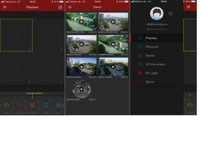 POE Videoüberwachung H.265 NVR Rekorder 4 Megapixel  mit 2 - 4 HD POE IP Dome Kameras  - Bild 9