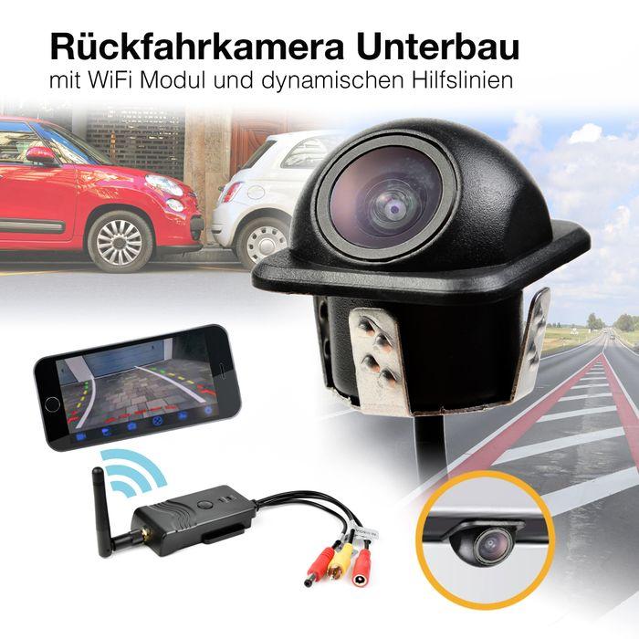 Auto WiFi Rückfahrsystem Rückfahrkamera mit Smartphone App für Iphone und Android 12V 24V  – Bild 1