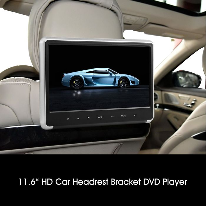 "11,6"" Digital Auto Kopfstütze mit Digital Full HD Monitor Backlight 1980 x 1080p mit DVD Player USB SD HDMI – Bild 2"