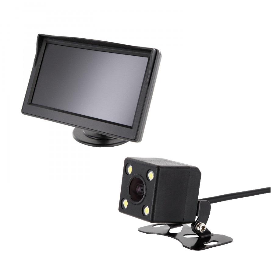 "12,7 cm monitor TFT display pequeño rückfahrsystem LCD 5/"" pulgada más pequeño coche KFZ"