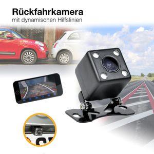 Auto Rückfahrsystem mit 7' (17,8cm) Monitor mit Rückfahrkamera dynamische Distanzlinien Hilfslinien - Bild 5
