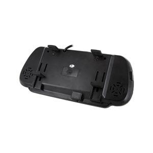 Auto Rückfahrsystem mit 7' (17,8cm) Rückspiegel Monitor mit Rückfahrkamera dynamische Distanzlinien Hilfslinien - Bild 4