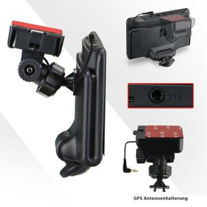 360° Panorama DVR DashCam Touchscreen Display Auto Kamera Parküberwachung mit GPS WDR - Bild 8