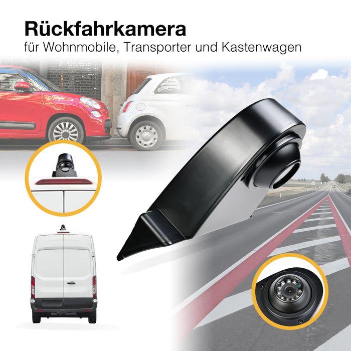 NTSC Rückfahrkamera für Klein-Transporter Sprinter Nachtsicht,120° Blickwinkel Sony CCD Sensor RCA  – Bild 1