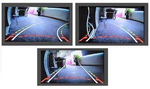 NTSC Unterbau Auto Mini Rückfahrkamera HD 170° Grad mit Nachtsicht und dynamischen Parklinien 520 TVL - Bild 5