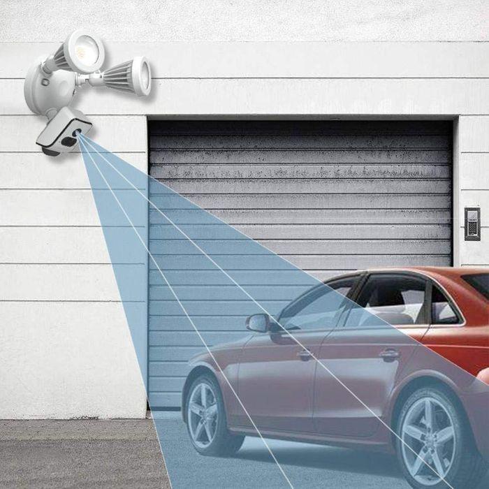 Full-HD  LED Flutlicht Strahler mit Bewegungsmelder Überwachungskamera 1080p Aussen 24W – Bild 10