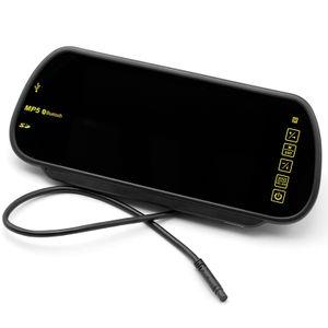 Auto Monitor Rückspiegel HD Display Bluetooth mit Freisprecher USD, SD, FM Transmitter Touchscreen - Bild 3