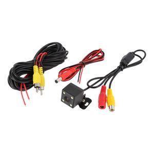 Auto Mini Rückfahrkamera 170° Grad PAL mit Nachtsicht LED's  - Bild 2