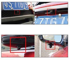 Mini Auto Mini Rückfahrkamera 170° Grad PAL gespiegelt Distanzlabel Kugelkopf - Bild 3