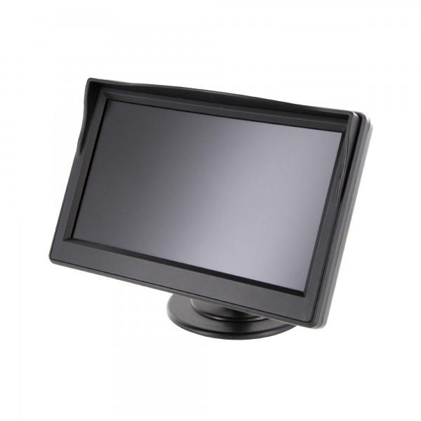 "5"" (12,7cm) Auto TFT LCD Monitor für Rückfahrkamera mit Saugnapf Halterung – Bild 1"