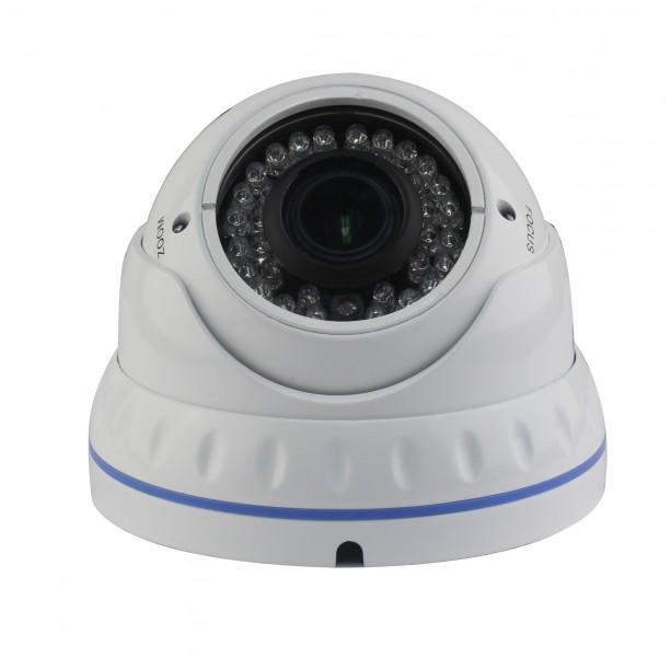 Dome Überwachungskamera Sony® CCD 700 TVL 960H Zoom 2,8-12mm OSD DNR WDR – Bild 1