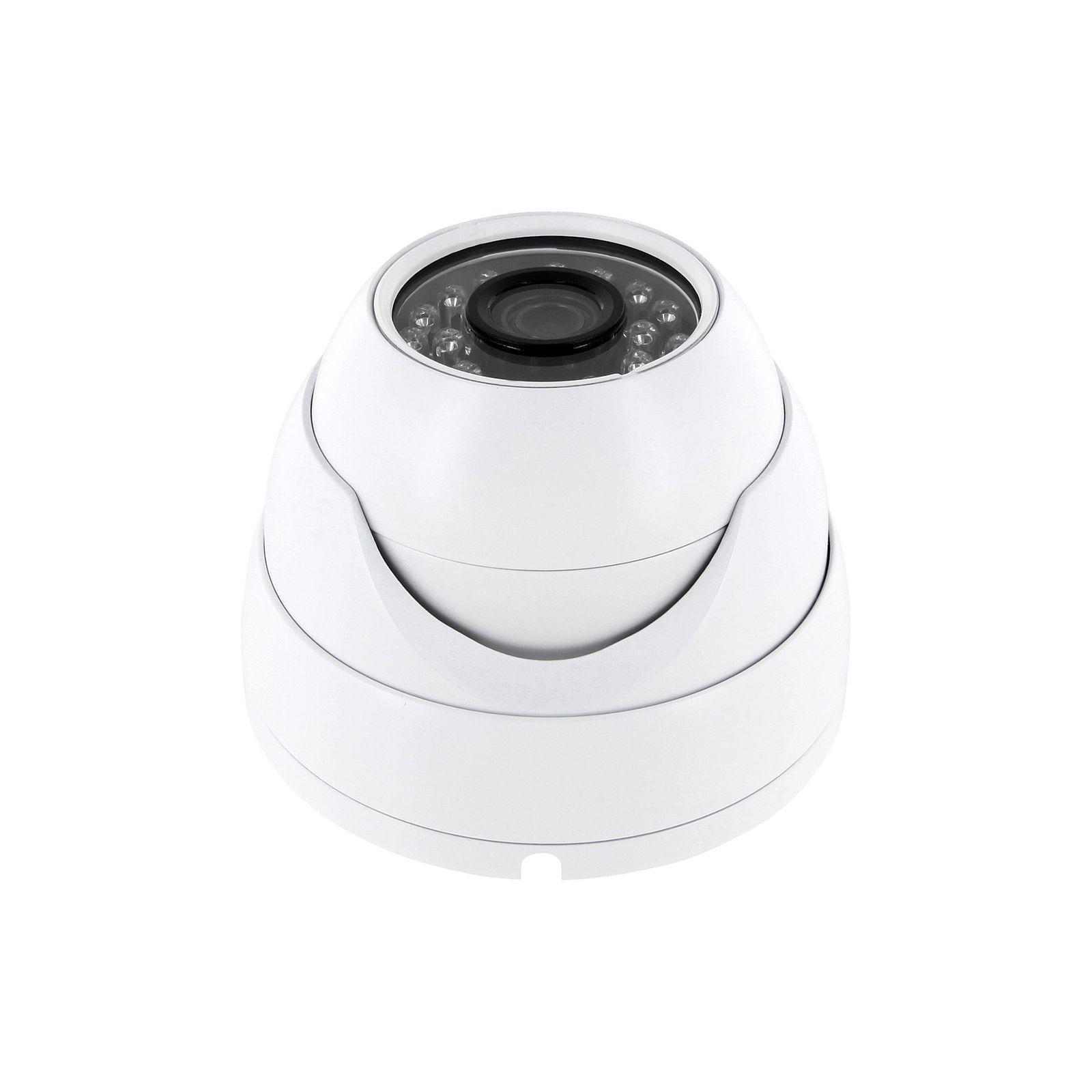 AHD Überwachungskamera Kompakt weiss PAL 1080p 25fps