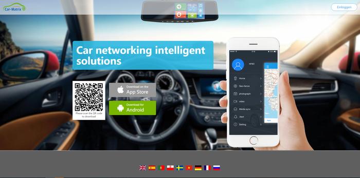 3G Auto Android Rückspiegel Monitor DashCam mit Google Maps Navigation GPS Tracker SIM Slot Smartphone App – Bild 11