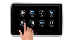 """10,1"""" Digital Auto Kopfstütze mit Digital HD Touchscreen Monitor 1080p DVD Player USB SD HDMI - Bild 2"""