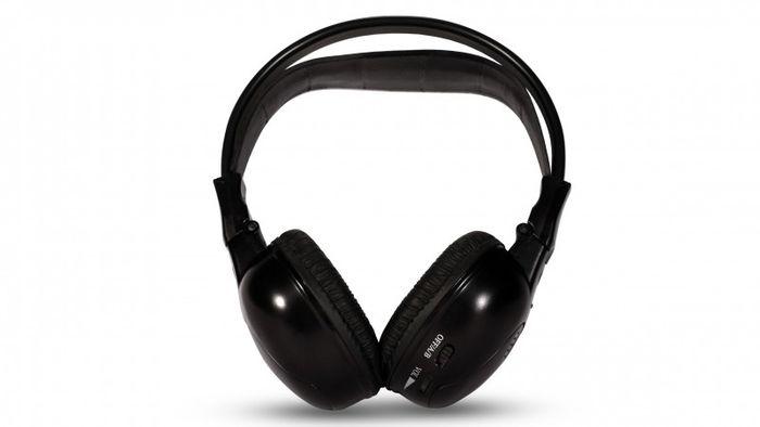 IR Stereo Kopfhörer Ohrhörer Wireless Kabellos 2 Kanal – Bild 1