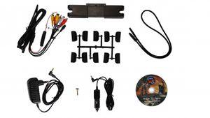 2 x 10,1 Zoll 25,65 cm Digital Auto Kopfstützen Monitore mit Touchscreen mit 1080p DVD Player USB SD Slot  - Bild 8