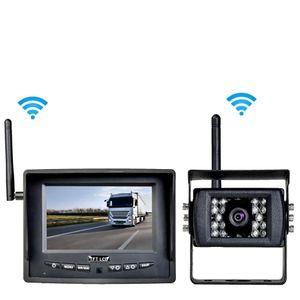 """Digitales Auto Funk Rückfahrsystem mit 5"""" Monitor LED Backlight und Rückfahrkamera 12V 24V  - Bild 1"""