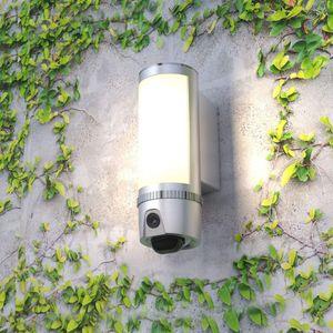 Full-HD LED Flutlicht Lampe mit IP Überwachungskamera Aussenleuchte Flutlichtkamera 180° Weitwinkel PIR Bewegungssensor Cloud  - Bild 1