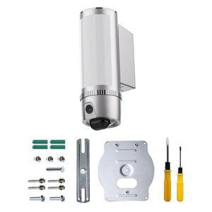Full-HD LED Flutlicht Lampe mit IP Überwachungskamera Aussenleuchte Flutlichtkamera 180° Weitwinkel PIR Bewegungssensor Cloud  - Bild 7