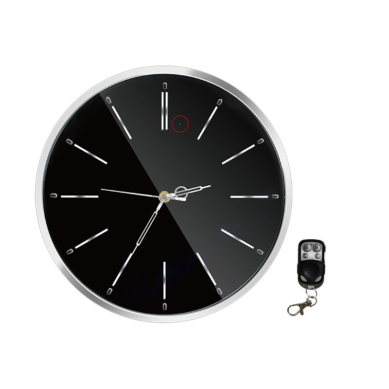 wanduhr uhr versteckte full hd berwachungskamera kamera bewegungsmelder 64gb ebay. Black Bedroom Furniture Sets. Home Design Ideas
