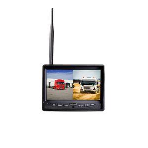 """Profi Funk Rückfahrsystem Digital für Auto Wohnmobil mit 7"""" Monitor TFT 12V 24V mit 1 Rückfahrkamera  - Bild 4"""