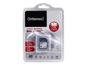 SDHC 16GB Intenso CL10 Blister - Bild 2