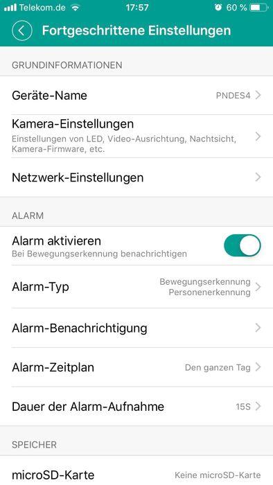 3G / GSM IP Kamera Überwachungskamera für Mobilfunk SIM Karte für Innen Aussen Wasserdicht Pferde Stall Überwachung – Bild 9