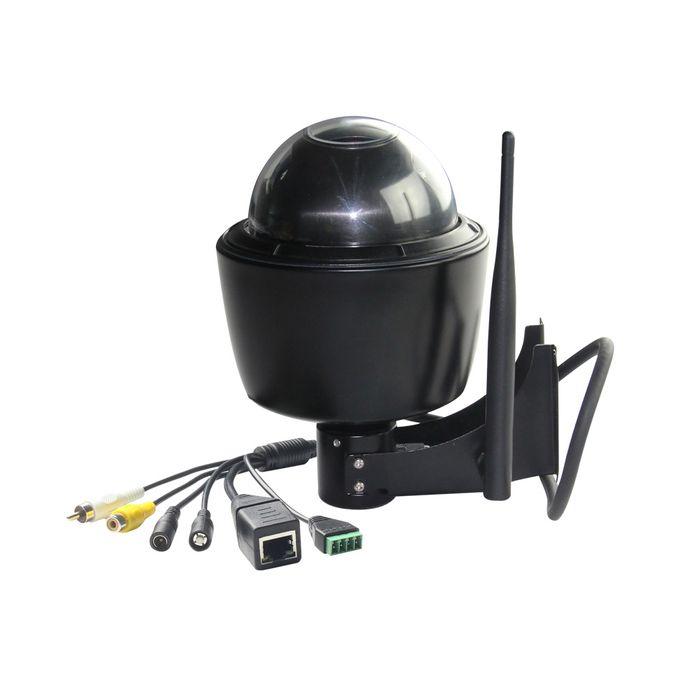 W--LAN IP Dome IP PTZ Kamera Überwachungskamera 5x optischer Zoom Nachtsicht Full-HD 1080p weiss schwarz – Bild 5