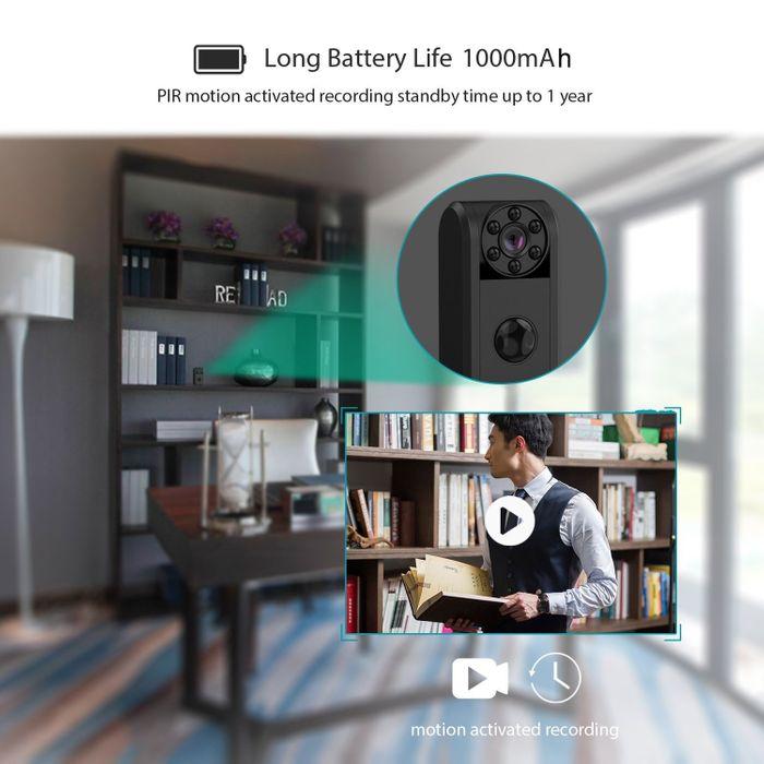 Mini Überwachungskamera HD mit PIR Sensor 1 Jahr Stand-by Lange Laufzeit – Bild 2